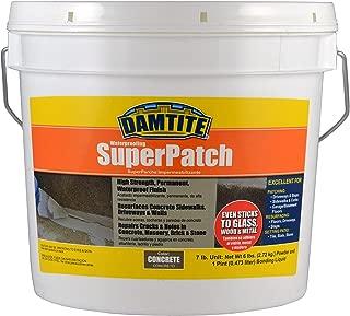 Damtite 04072 Concrete Super Patch Repair, 7 lb. Pail