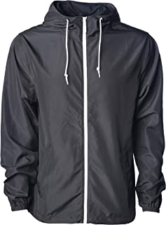 Sponsored Ad - Global Blank Men's Lightweight Windbreaker Winter Jacket Water Resistant Shell