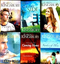 Karen Kingsbury 6 Book Collection: Every Now and Then /On Every Side / Loving / Take One / Coming Home / Shades of Blue