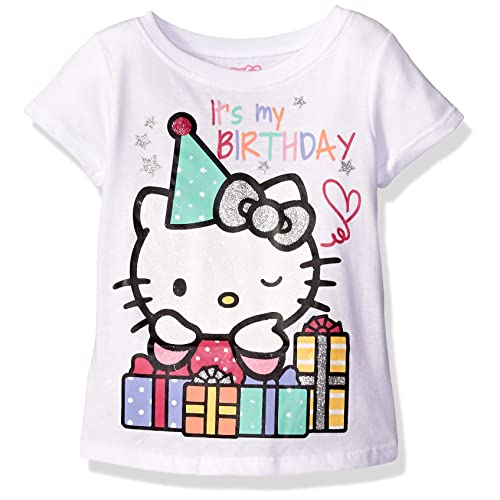 Hello Kitty Girls Happy Birthday T Shirt