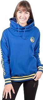 UNK NBA Women's Fleece Hoodie Pullover Sweatshirt Funnel Neck