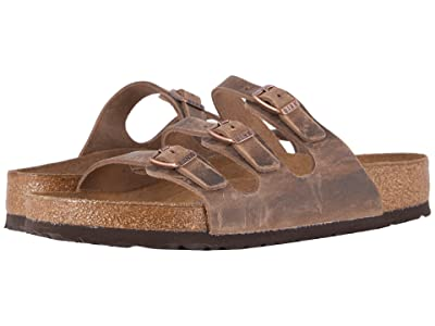 Birkenstock Florida Soft Footbed Leather (Tobacco Oiled Leather) Women