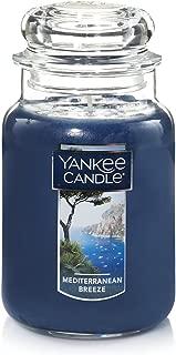 Yankee Candle Large Jar Candle, Mediterranean Breeze