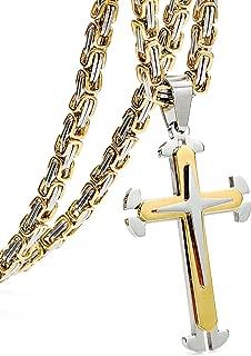 Best bling bling cross necklace Reviews