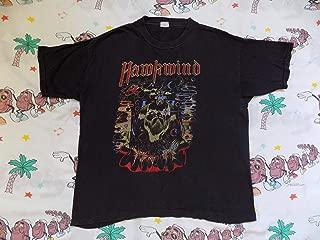 Vintage 90's Hawkwind Space Bandits USA Tour T shirt, size M L 1990 psych rock Lemmy