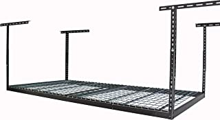 Overhead Storage Rack Color: Hammertone, Size: 45