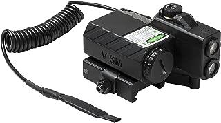 NcSTAR VLGSNVQRB Offset Green Laser Designator with Navigation LEDs, Black