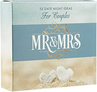 Christian Art Gifts Mr & Mrs Date Night Idea Cards