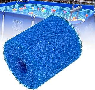 XIAOL Esponja para filtro de piscina Intex tipo H, reutilizable y lavable, 2 unidades