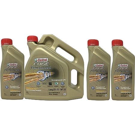 Neu 3x 1 Liter 4 Liter 7l Castrol Edge Professional 5w 30 Longlife Iii Mit Titanium Fst Auto
