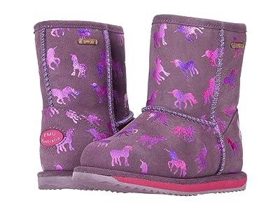 EMU Australia Kids Rainbow Unicorn Brumby (Toddler/Little Kid/Big Kid) (Grape) Girl