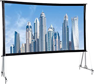 AmazonBasics Outdoor Projector Screen with Stand - 16:9, 120-Inch