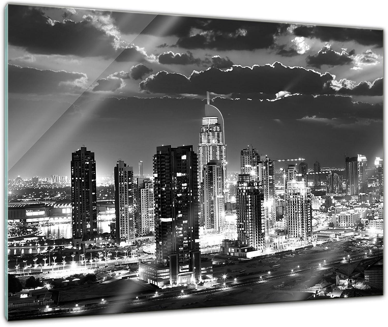 Glas-Bild Wandbilder Druck auf Glas 120x60 Deko Sehenswürdigkeiten Sonne Dubai