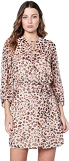 Cooper St Women's Animal Instinct Tie Waist Mini Dress