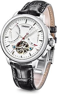 Time100 2018 Reloj Hombre Pulsera Reloj mecánico automátic