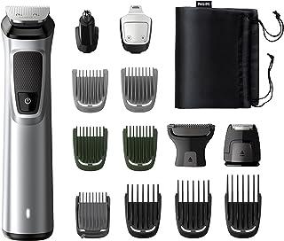 Philips Trimmer Baard- En Precisie-14-In-1 Dualcut-Technologie, Autonomia 120 Minuten, Zwart/Zilverkleurig