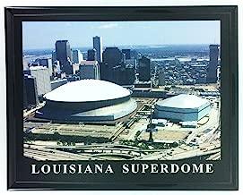 New Orleans Saints Louisiana Superdome Framed Aerial Photo F7613A