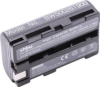vhbw batería Compatible con Sony CCD-CR1 (Ruvi) DCR-PC1 DCR-PC2 DCR-PC3 DCR-PC3E DCR-PC4 DCR-PC5 cámara de vídeo videocámara (1100mAh 3.6V)
