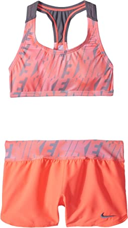 Nike Kids - Amp Axis Racerback Sport Top Short Set (Big Kids)