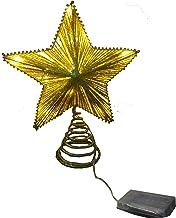 TGHOMECRAFT.Christmas Tree Top Glittered LED Lights Star,Timer for Christmas Tree Decoration and Holiday Seasonal Décor, I...