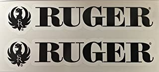 2 Ruger Firearms Armory Die Cut Decals