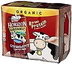 Horizon Organic UHT Strawberry Milk Boxes, 1% Single Serve, 8 Oz., 6 Count