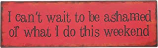 Ganz 'I Can't Wait to Be' Iron Wall Plaque