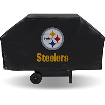 NFL Rico Industries Vinyl Grill Cover, Pittsburgh Steelers