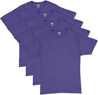 Hanes 恒适 男士Comfortsoft休闲舒适柔软T恤 4件装