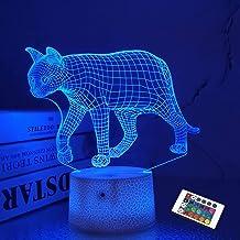 Nachtlampje voor kinderen Ocean Dolphin 3D Nachtlampje Porpoise nachtlampje 7 Kleur veranderen Xmas Halloween Verjaardagsc...