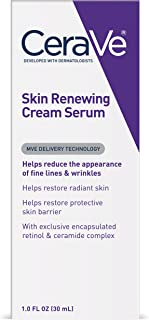 CeraVe Anti Aging Serum | 1 Ounce | Cream Serum for Smoothing Fine Lines | Fragrance Free