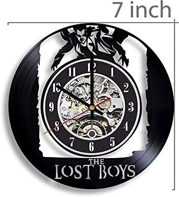 The Lost Boys Vinyl Record Wall Clock, The Lost Boys Movie, The Lost Boys Artwork, Movie Art, The Lost Boys Wall Decor, The Lost Boys Clock, Vintage Movie, The Lost Boys 1987 Retro Vintage Movie