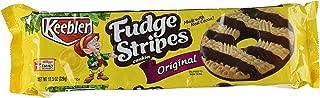 Keebler Fudge Shoppe Fudge Stripe Cookies, 11.5-Ounces Packages (Pack of 6)