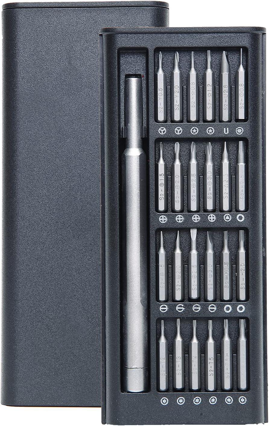 25 In 1 Precision Magnetic Bits DIY Dismountable Screw Driver Se