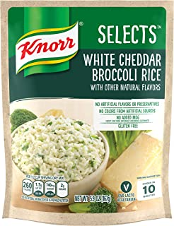 Knorr Selects Rice Side Dish, White Cheddar Broccoli, 5.9 oz