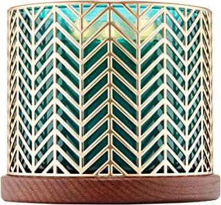 Bath and Body Works Gold Chevron 3-Wick Candle Holder