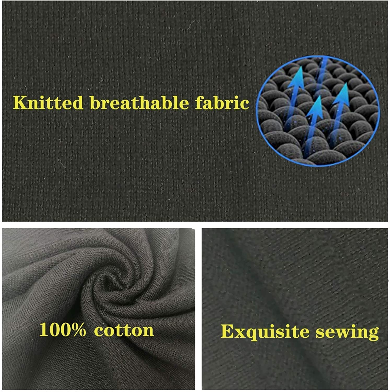 Adjustable Face Cover Neck Gaiter Scarf Mask Bandana soft Cotton Reusable Breath Freely