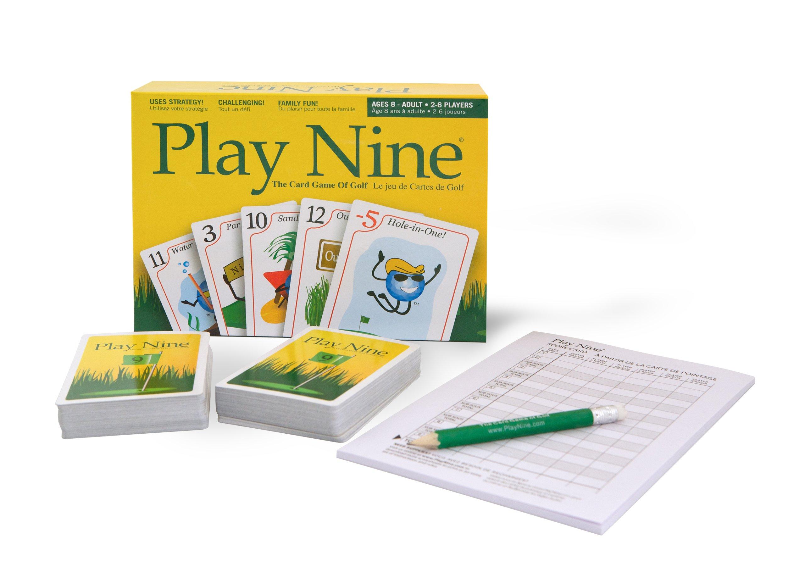 Play Nine Card Game Golf