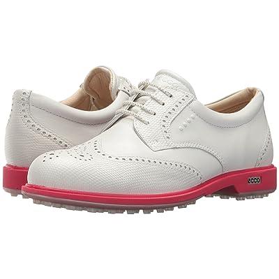 ECCO Golf Classic Golf Hybrid (White/Teaberry) Women