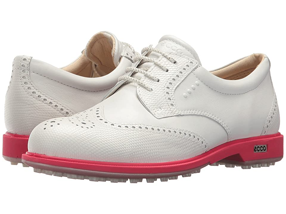ECCO Golf Classic Golf Hybrid (White/Teaberry) Women