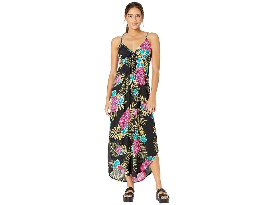 Billabong Like Minded Maxi Dress (Black) Women