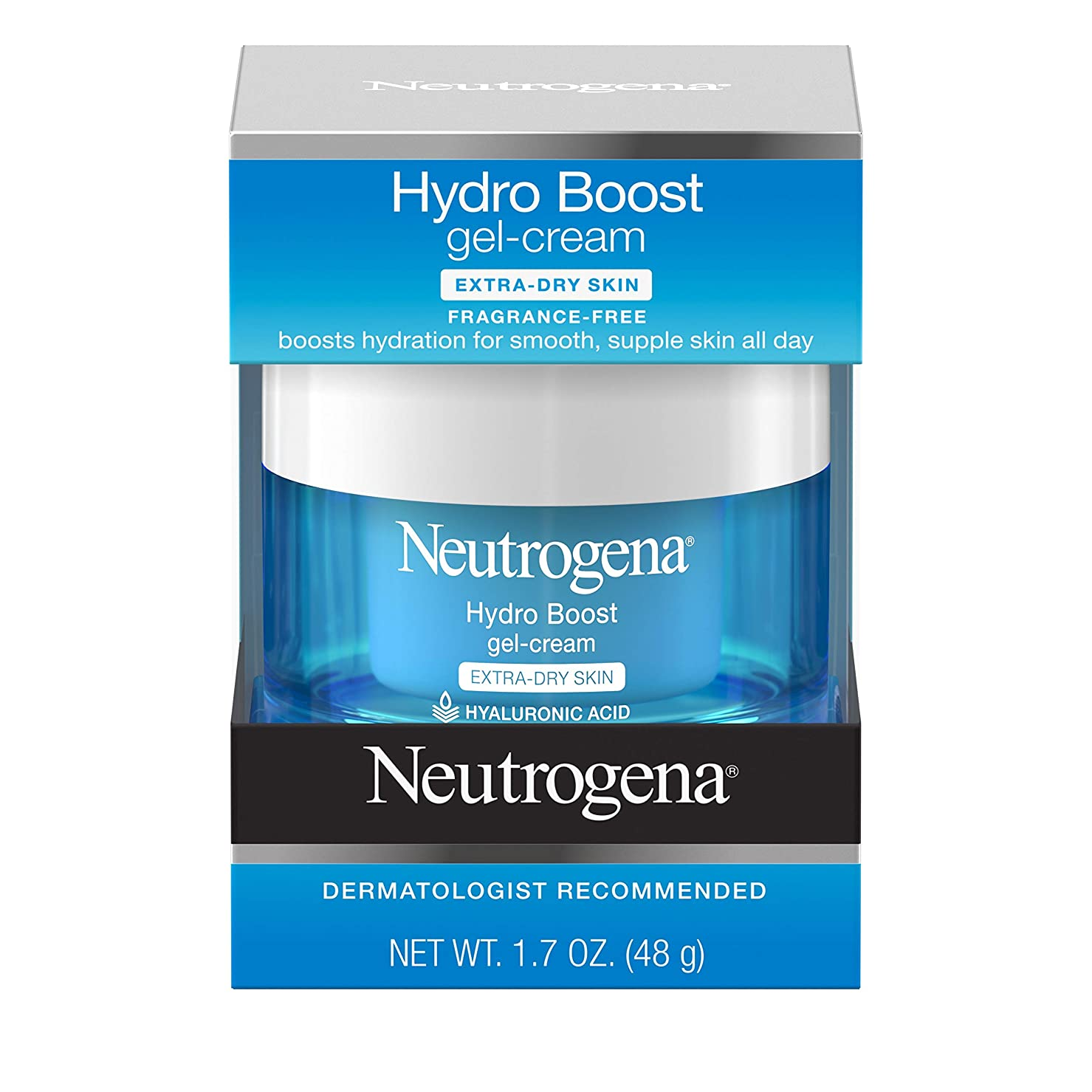 ボード旋回蒸発Neutrogena Hydro Boost Gel Cream, Extra Dry Skin, 1.7 Ounce  海外直送品?並行輸入品