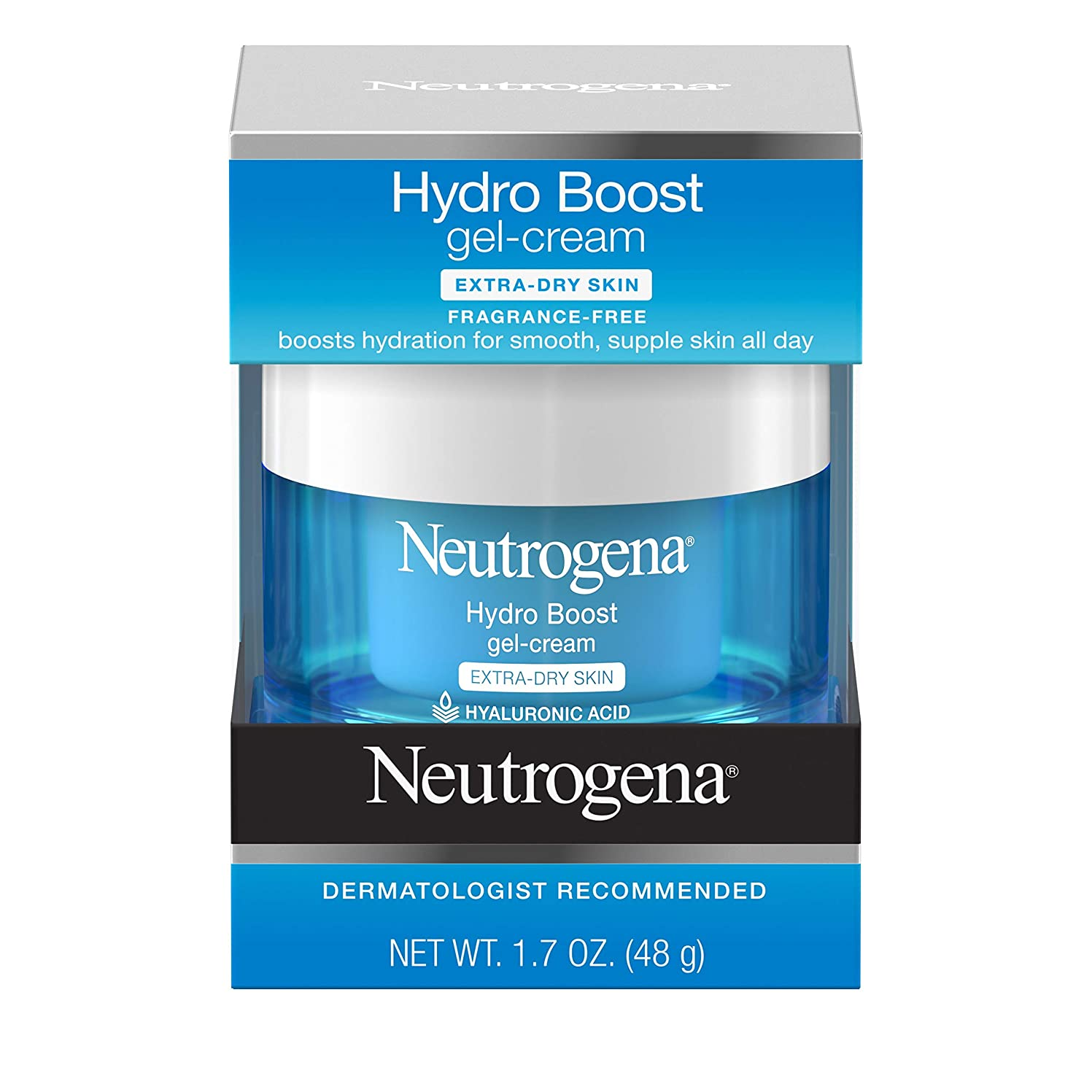 拳もの入るNeutrogena Hydro Boost Gel Cream, Extra Dry Skin, 1.7 Ounce  海外直送品?並行輸入品