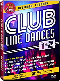 Club Line Dances 1 & 2: Beginner Lessons – Learn to dance the Wobble, Electric..