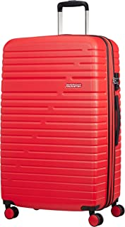 American Tourister Aero Racer Spinner 79 Expandable - 4,6 Kg Equipaje de mano, cm, 115 liters, Rojo (Poppy Red)