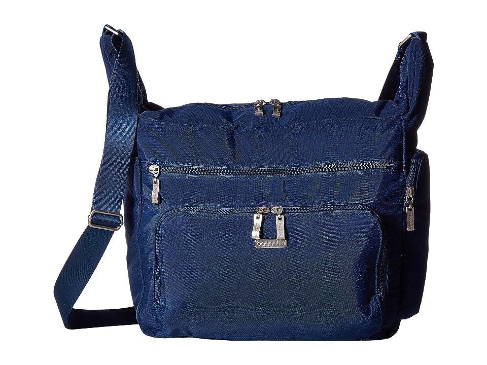 Baggallini Legacy Travel Hobo with RFID Wristlet (Pacific) Hobo Handbags