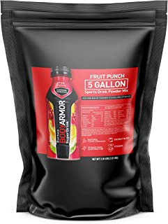 BODYARMOR Sports Drink Powder, Fruit Punch, 56.96 ounce (Pack of 1), Natural Flavors With Vitamins, Potassium-Packed Electrolytes, No Preservatives, and Perfect for Athletes