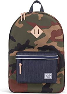 Herschel Supply Co. Unisex Heritage Woodland Camo/Dark Denim One Size