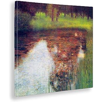 Stampa fine art – Pronto da appendere Gustav Klimt Pallade Atena Quadro