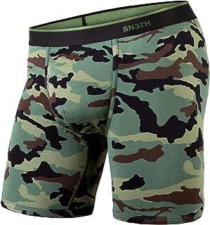 BN3TH by MyPakage Men's Classic Boxer Brief Underwear Print No Plaid Days Blue